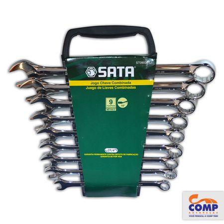 ST09020SJ-7891645087500-Jogo-Chave-Combinada-9-pecas-8-10-11-12-13-14-15-17-19-mm-Aco-Cromo-comp-1