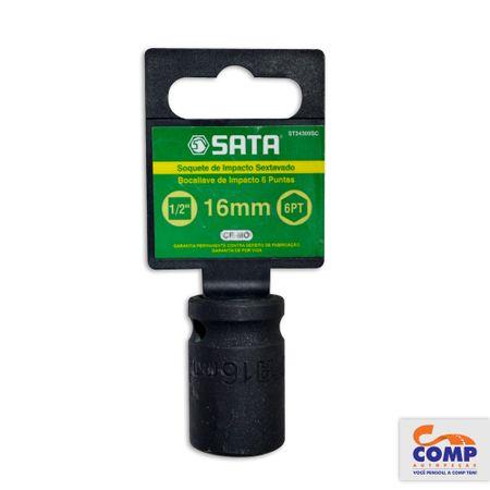 ST34309SC-7891645084059-Soquete-Impacto-Sextavado-Sata-16-mm-Encaixe-1-2-Aco-Cromo-Molibdenio-comp-1