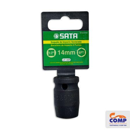 ST34307SC-7891645084035-Soquete-Impacto-Sextavado-Sata-14mm-Encaixe-1-2-Aco-Cromo-Molibdenio-comp-1