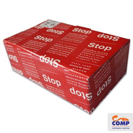 HQS2108-Pastilha-Freio-Dianteira-Gol-GIII-Gol-Parati-Saveiro-Stop-HQS-2108-sistema-Teves-comp-2