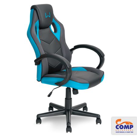 Cadeira-Gamer-Azul-Warrior-Multilaser-GA161-comp-2