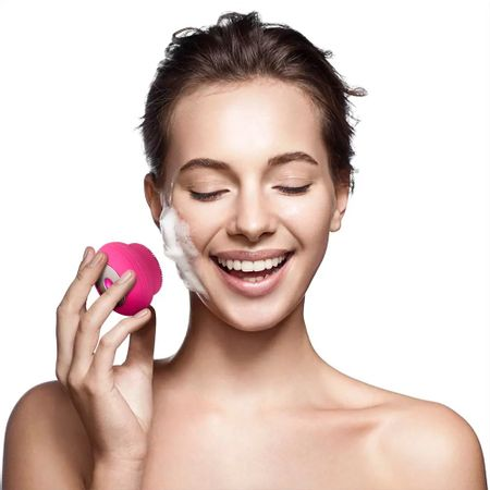 Escova-Sonica-Limpeza-Facial-Bella-Mini-Recarregavel-Resistente-a-agua-Rosa-Multilaser-HC183-comp-1