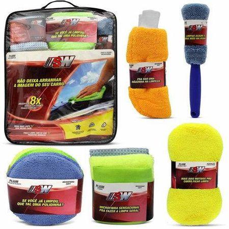 7899932718151-Kit-Limpeza-Automotiva-Pano-Microfibra-Luva-Esponja-Polimento-Escova-SW-1815SW-comp-1