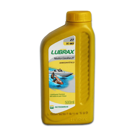 TCW3-2T-7891344001388-Oleo-Lubrax-Nautica-2-tempos-500ml-Lubrificante-Semissintetico-Motores-comp-1